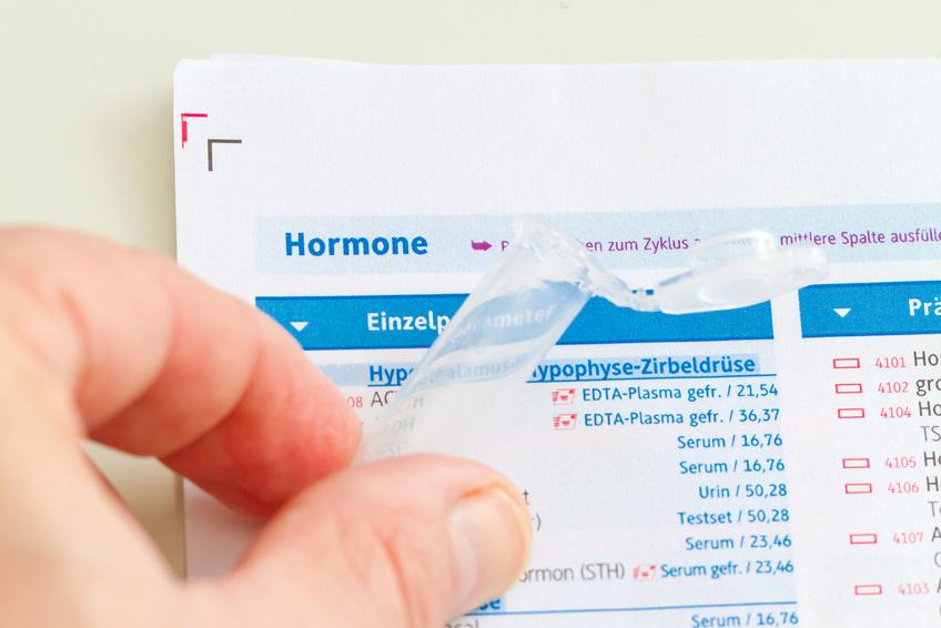 Hormontest, Speicheltest